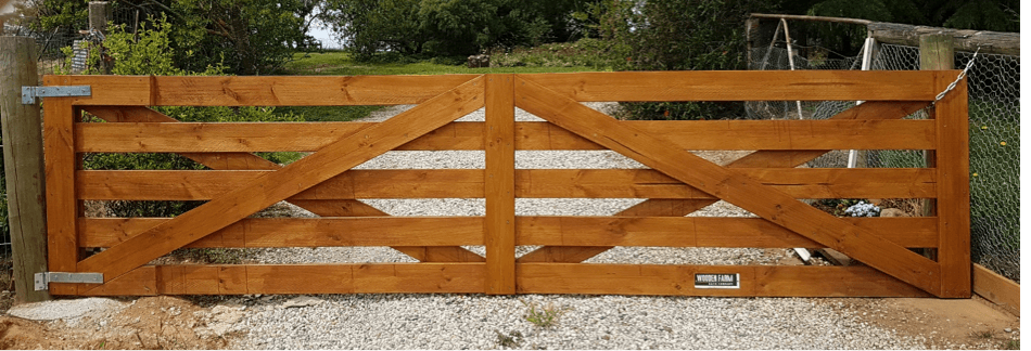 How To Build A Wooden Farm Gate